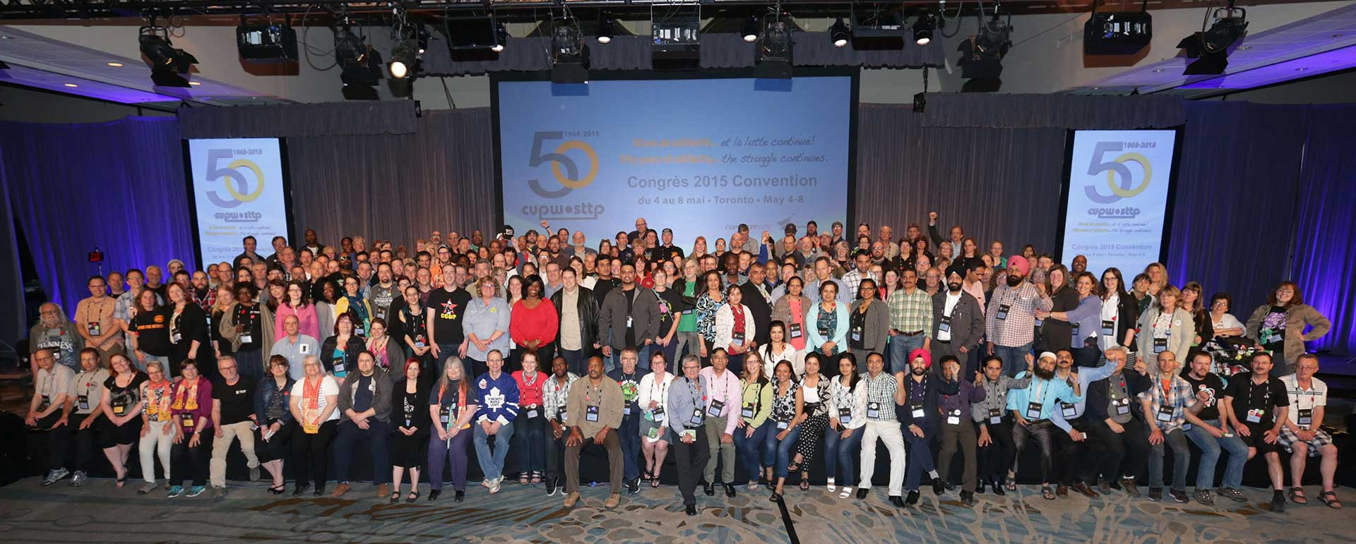 National and Regional representatives elected at the CUPW 2015 National Convention