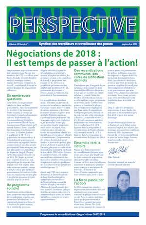 Programme de revendications : Négociations de 2018 : Il est temps de passer à l'action!