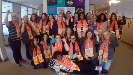 CUPW National Women's Committee members (2015-2019)