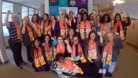 Membres du Comité national des femmes du STTP (2015-2019)