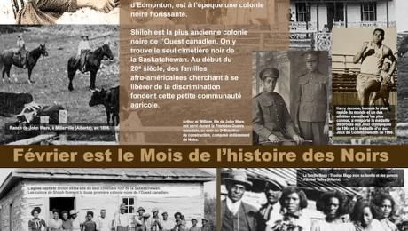 Affiche : Mois de l'histoire des Noirs 2019
