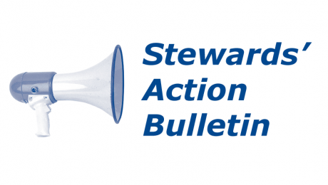 Logo : Stewards' Action Bulletin