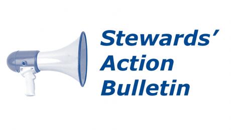 Logo : Stewards' Action Bulletin